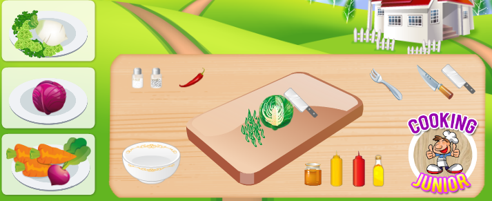 choi game nấu ăn miễn phí hay tại gamevui.biz