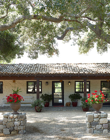 Pie ranch and the pickled peach cafe a rustic spanish for Mexican ranch style homes