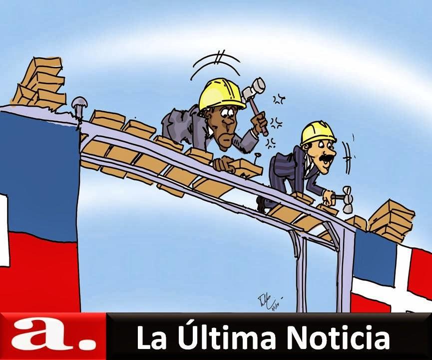 Image result for danilo medina y caricaturas de haitianos