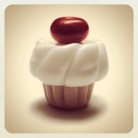Cherry Cupcake Bead