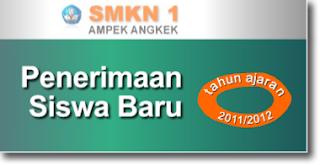 Penerimaan Siswa Baru Tahun Pelajaran 2011/2012