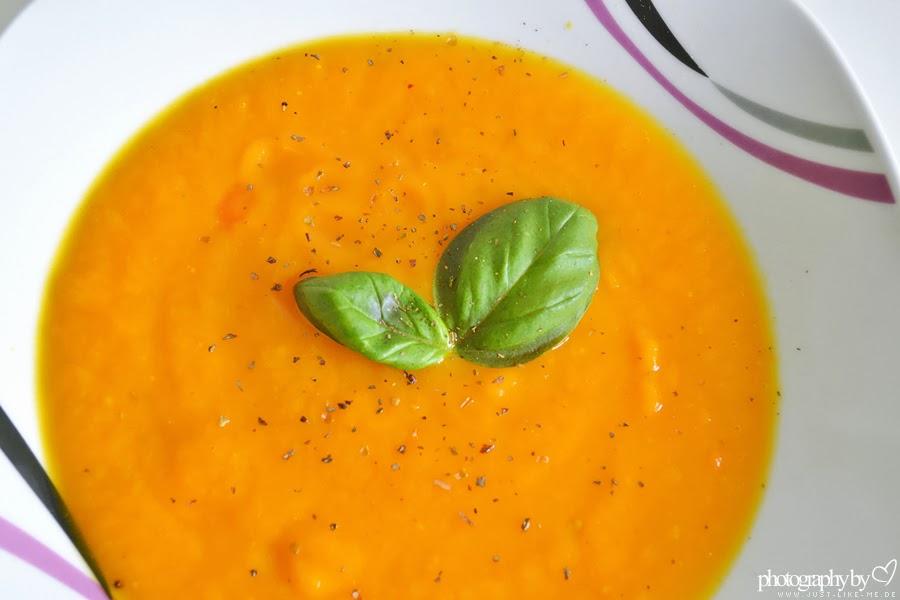 Kürbis-Orangen-Creme Suppe