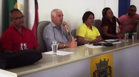 ITAPÉ: PREFEITO ESTEVE REUNIDO COM PROFESSORES
