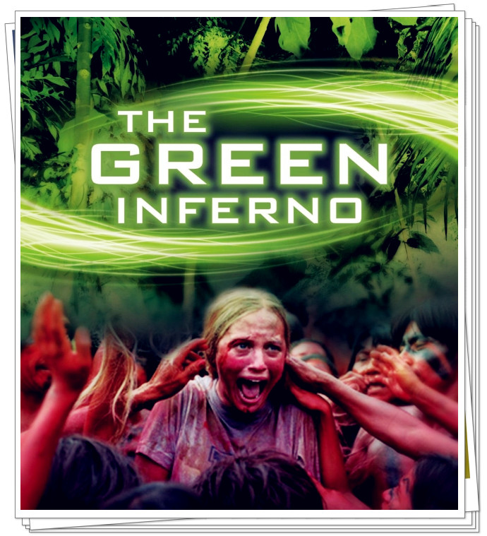 The Green Inferno Movie Film - Sinopsis (Lorenza Izzo, Ariel Levy)