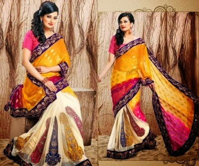 Best Party Wear Indian Sarees 2014-15