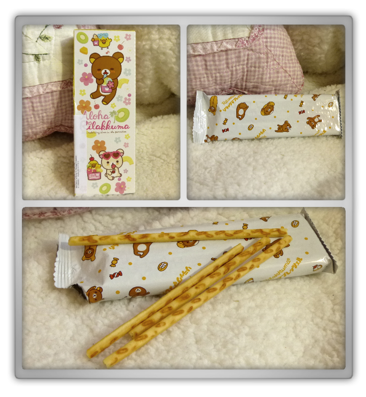 Blippo haul review shoplog rilakkuma kiiroitori korilakkuma cookie sticks pretzels review kawaii