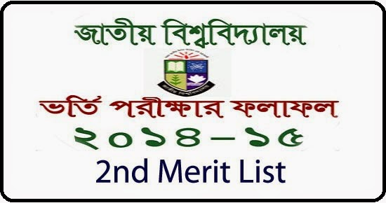 2nd Merit List Result