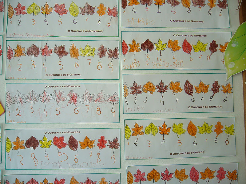 ideias para o outono jardim de infancia : ideias para o outono jardim de infancia:assim se começa a introduzir a matemática no Jardim-de-Infância,