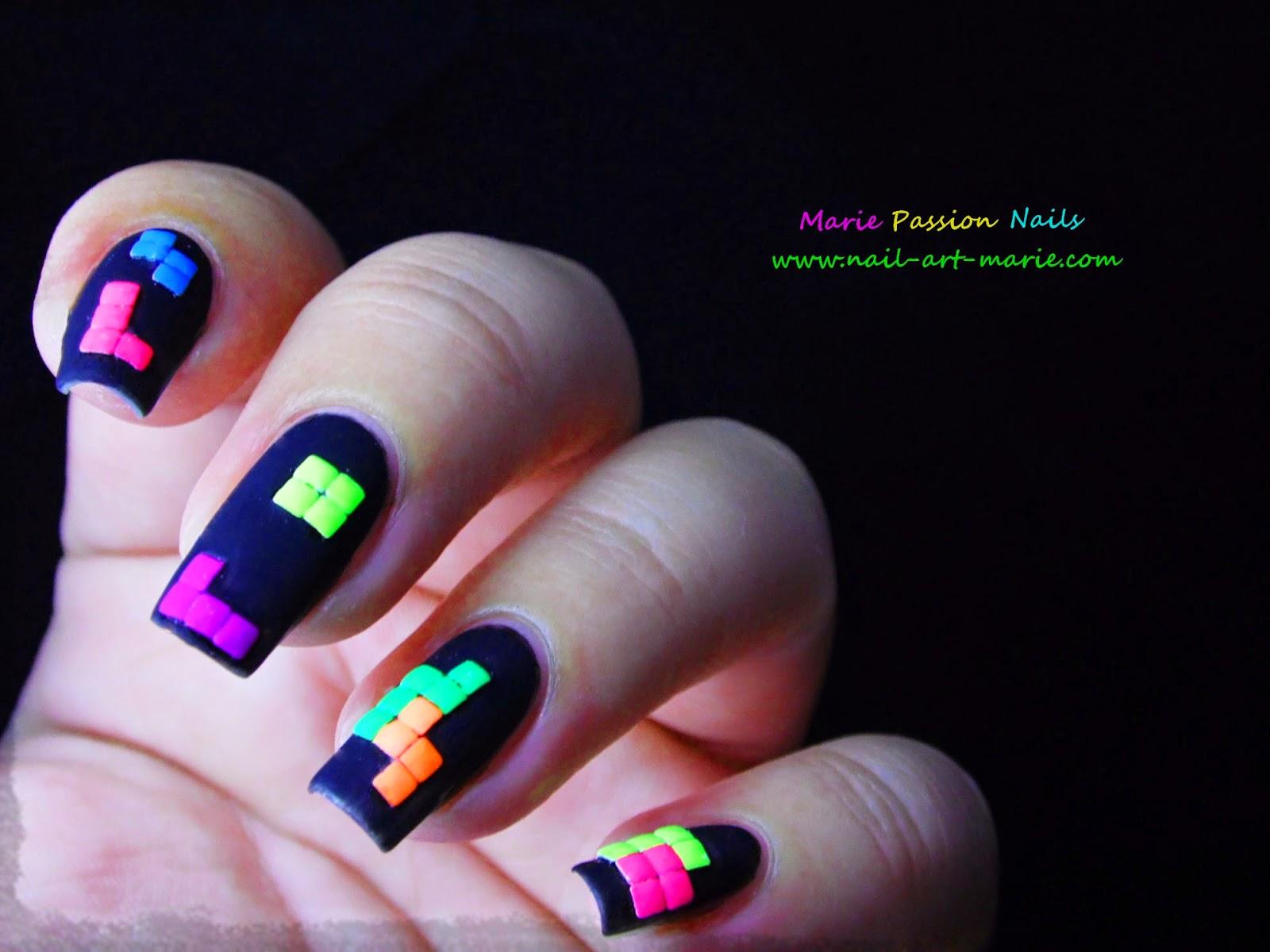 nail art tétris2