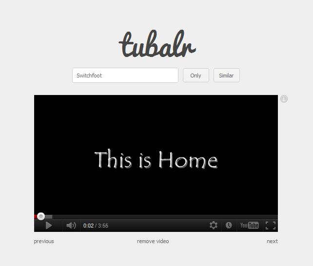 Escucha música cristiana en Youtube con Tubalr.com