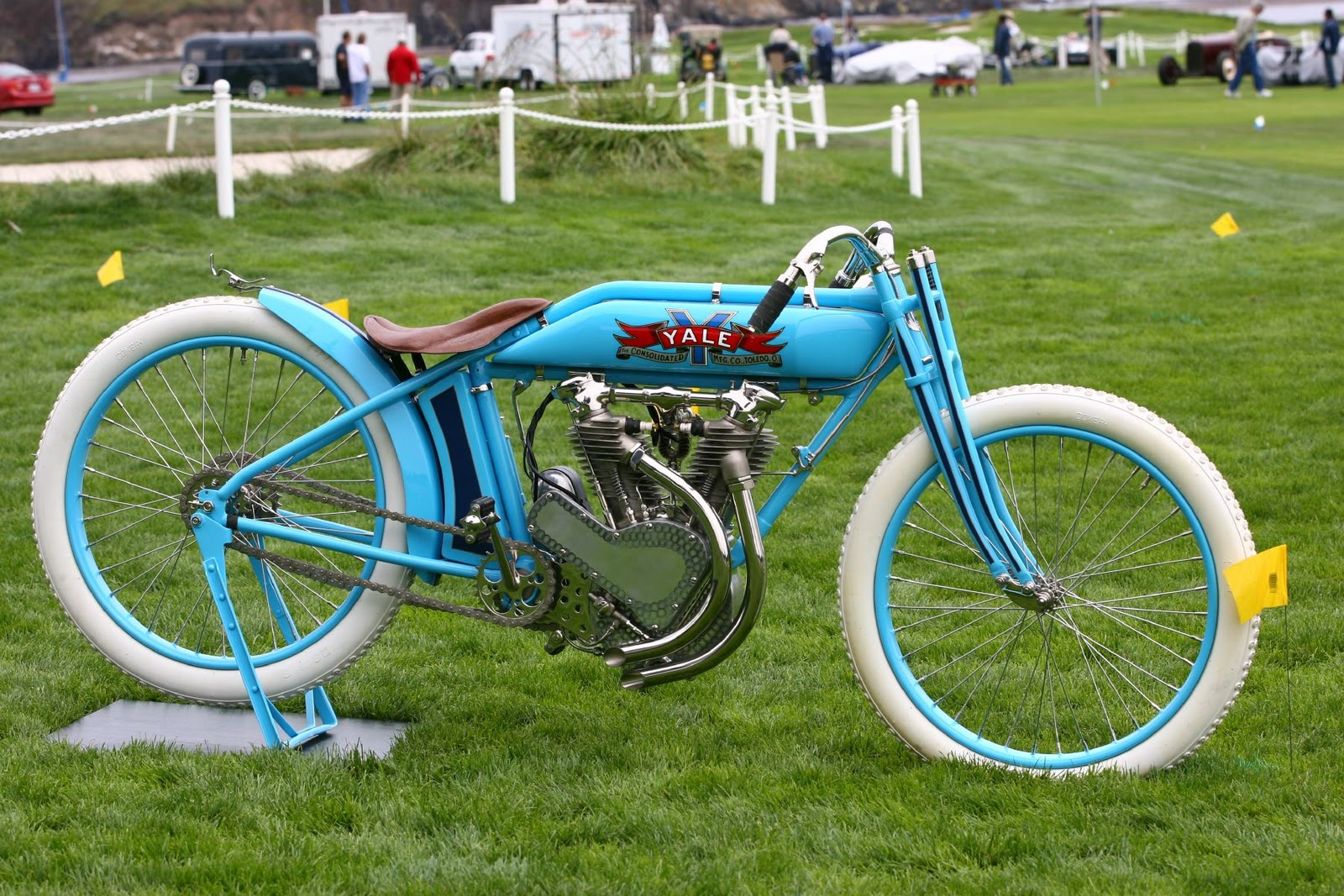 Fast Is Fast Yale Board Track Racer