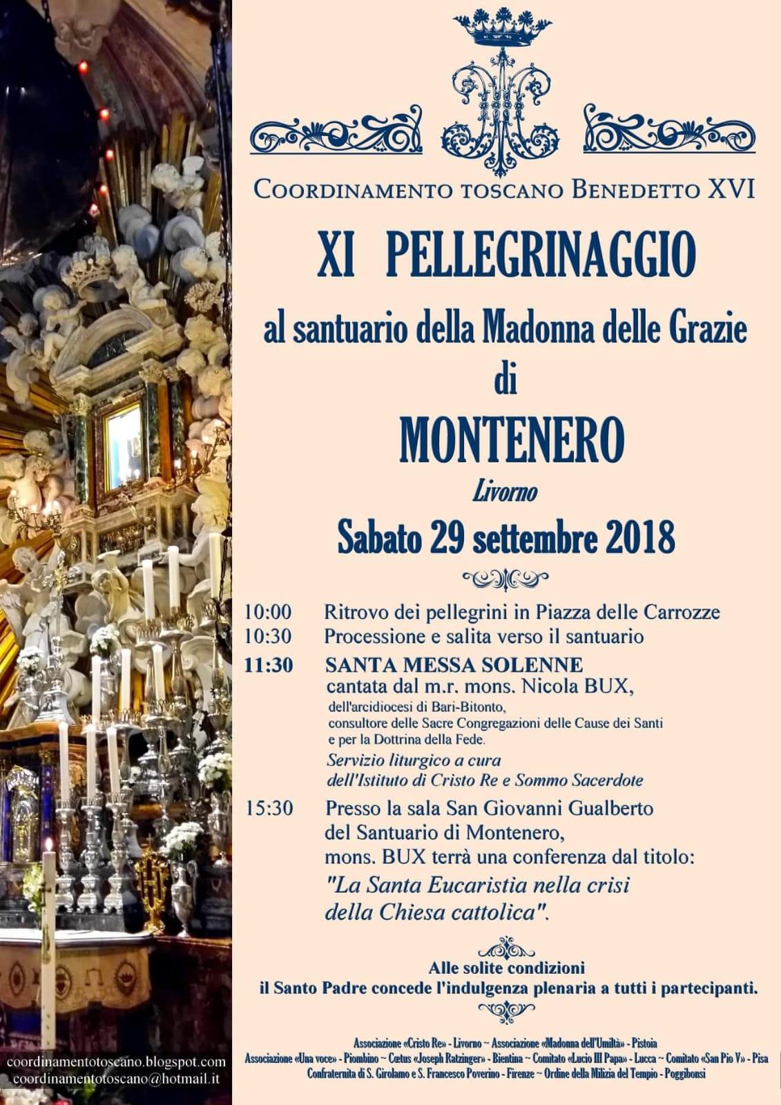 XI Pellegrinaggio della Tradizione al Santuario di Montenero