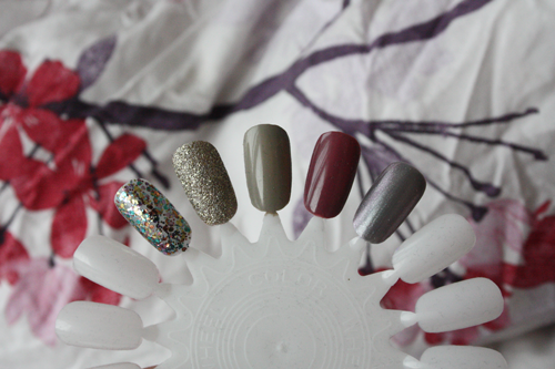 five favourite autumn (fall) winter transition nail polishes