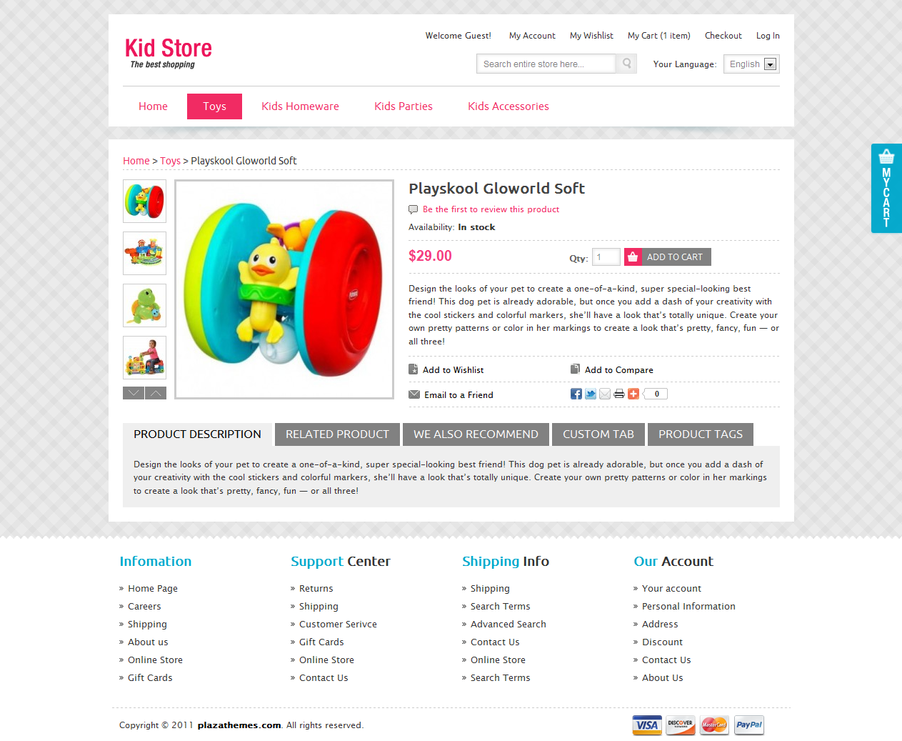 Kid-Store-eCommerce-Magento-Online-Store-Templates