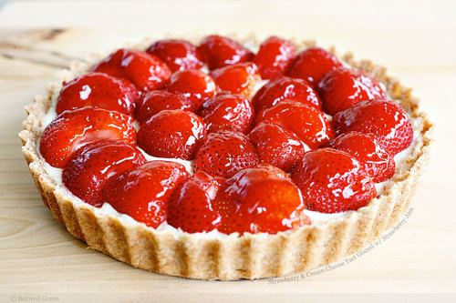 Tarts On Demand: Strawberry Tart Glaze