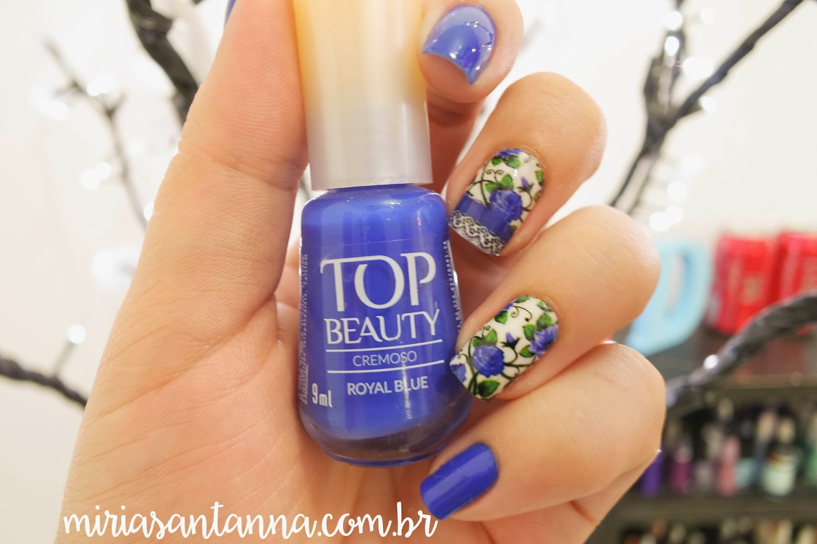 Azul Royal - Top Beauty