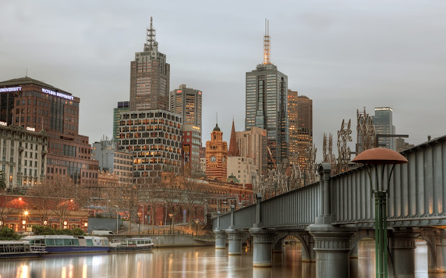 Melbourne In Winter