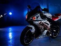 Modifikasi Yamaha R6 Berpenampilan Horor