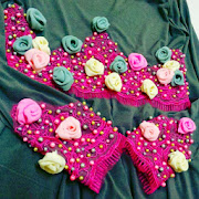PINK ROSES BEADED(RM 250)