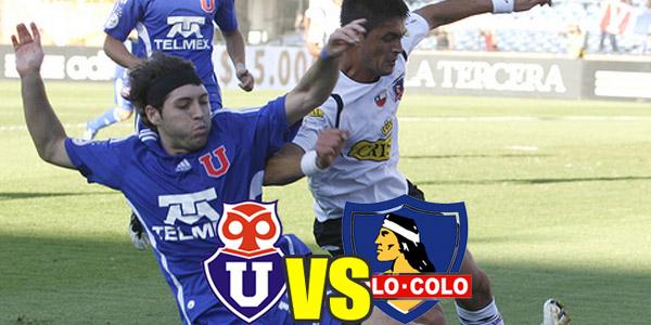 gran partido de futbol online entre Clasico Universidad de Chile vs