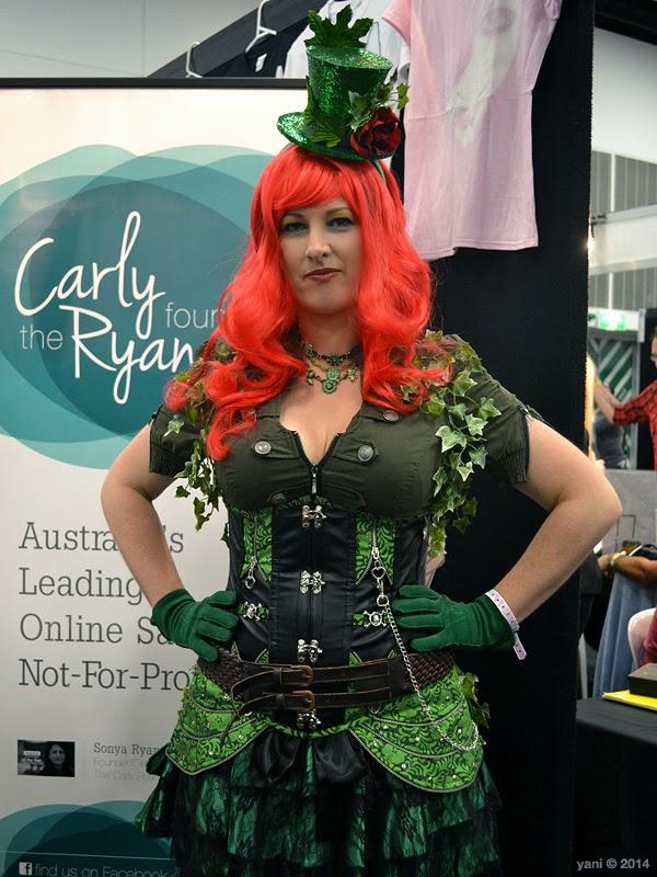 oz comic-con adelaide - steampunk poison ivy