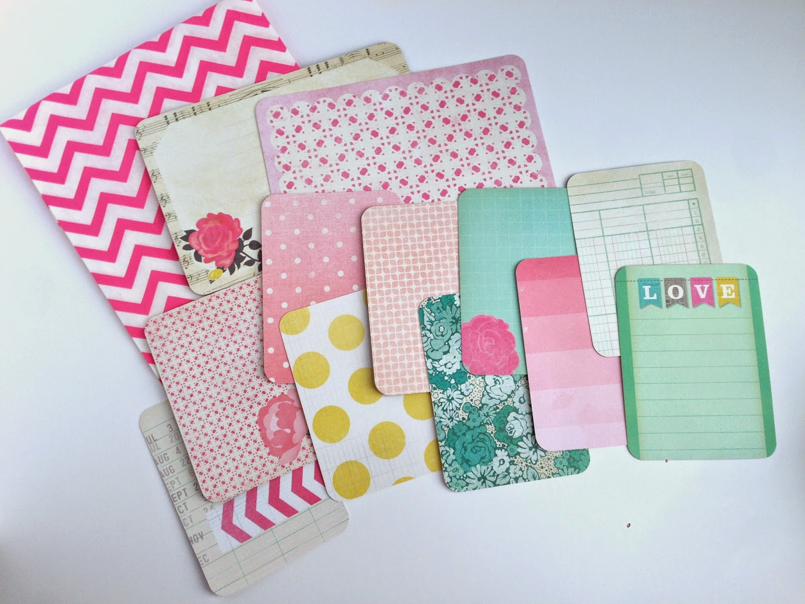 Scrapbook paper dividers