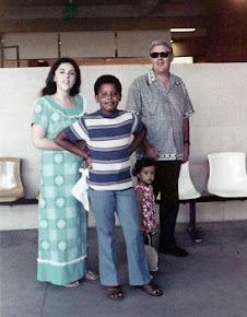 Mom with Barry (Barack Obama)