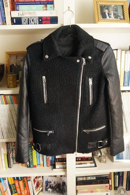 Topshop Moto Cross jacket