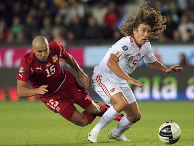 Czech Republic 0 - 2 Spain (1)