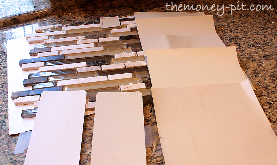 installing a pencil tile backsplash and cost breakdown