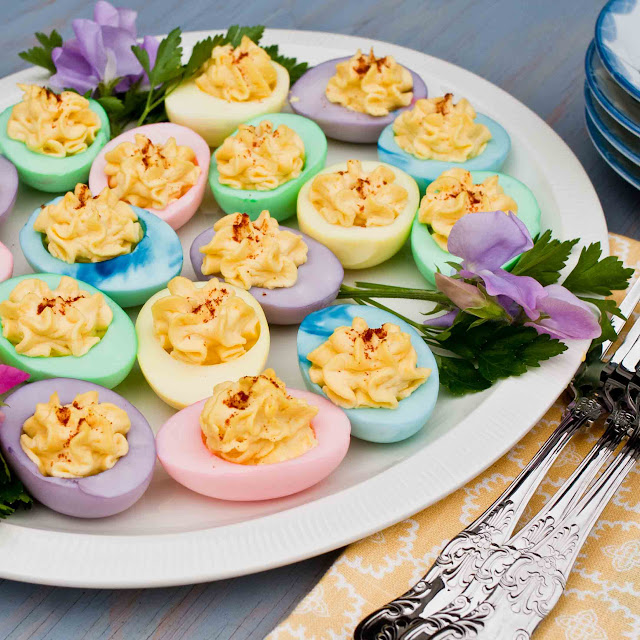 Easter Devilled Eggs | Easy Easter Recipes You'll Crave All Year Round