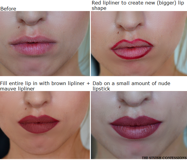 TUTORIAL KYLIE JENNER'S 90'S LIPS