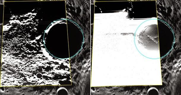 Captadas primeiras fotos de água gelada em Mercúrio