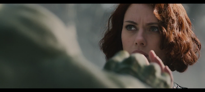 Black Widow and Hulk Avengers Age of Ultron