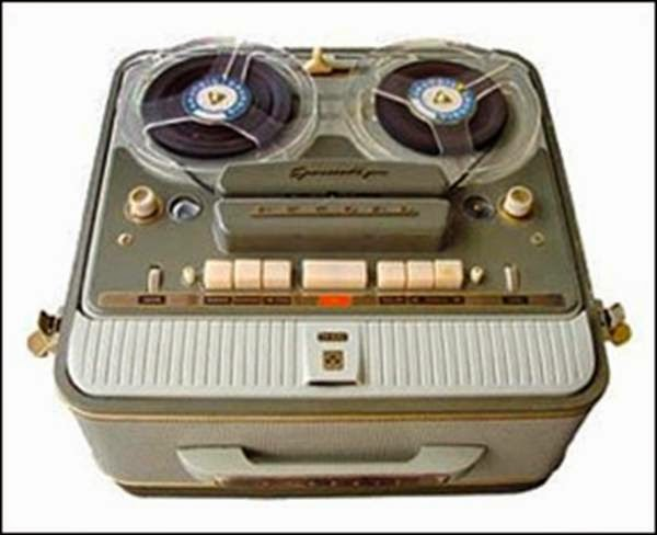 A marvel at the time a tape rcorder
