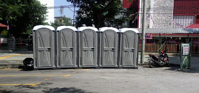 Bersih 4: More portable toilets