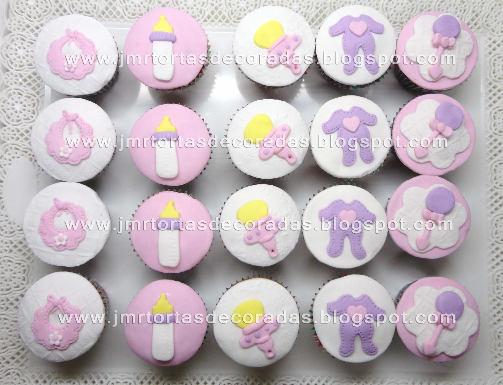 Cupcakes Baby Shower  JMR Tortas Decoradas