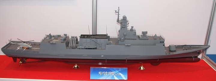 An Incheon -class with Israeli weapons and sensor systems? Not bad