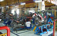 Membuka usaha bengkel motor
