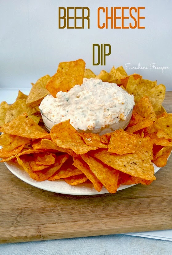 Beer Cheese Dip- Perfect chip dip for parties. Serve with Doritos or ...