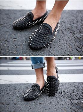 Zapatos Louboutin Hombre Mocasines