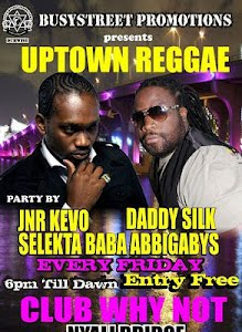 UPTOWN REGGAE AT CLUB WHY NOT