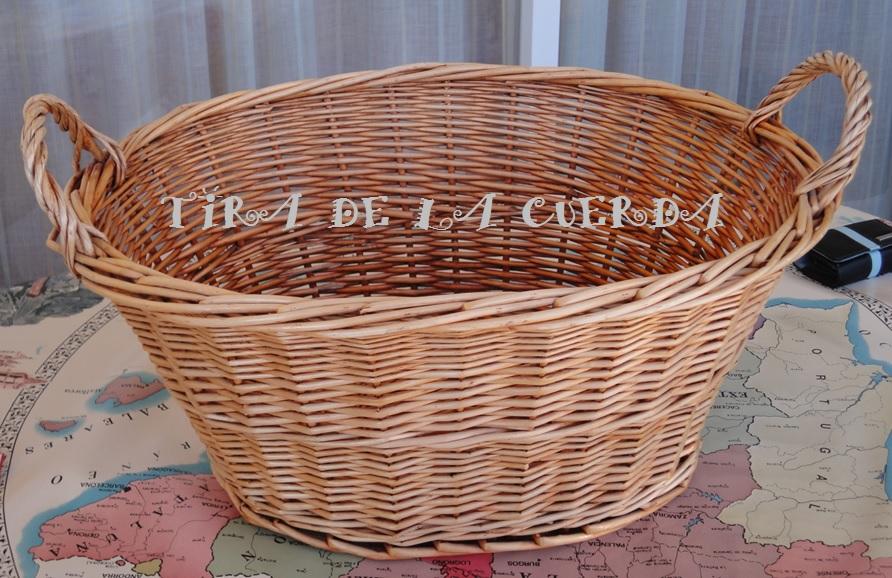 El blog de tira de la cuerda una cesta para los juguetes - Cestas para guardar juguetes ...