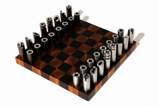 Steel Chess Set chess set