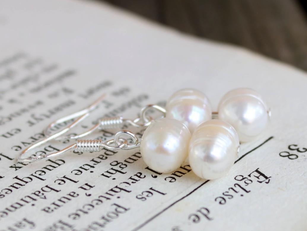 Simple Pearl Earrings Designs Simple Pearl Earrings Tutorial