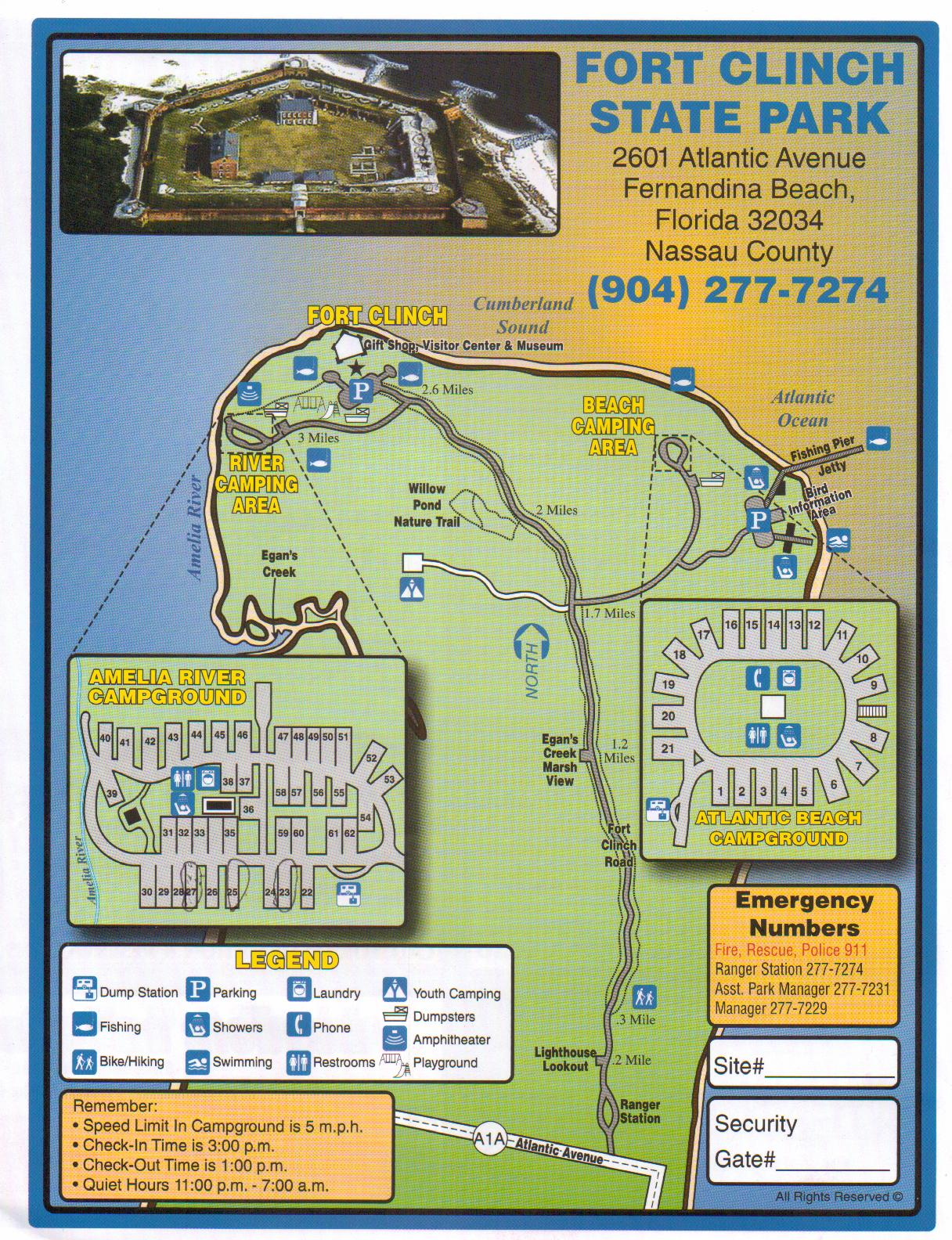 Adventures Of Toaster Fort Clinch State Park Part - Florida map state parks