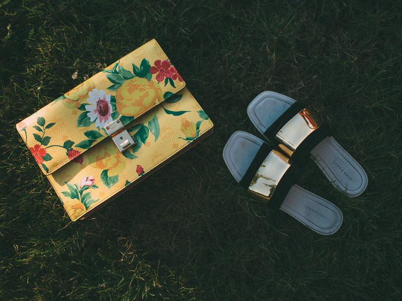MCM Bag Zara Shoes