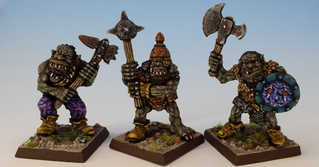 IC601 Black Orcs 4-6, Citadel (sculpted by Bob Olley, 1988)