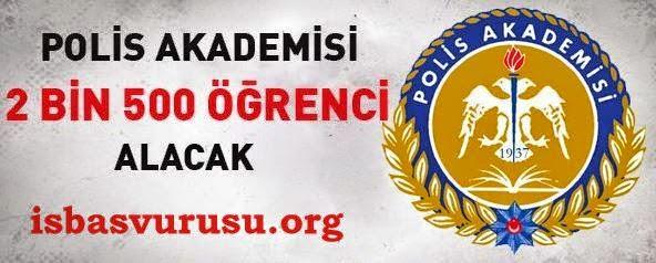 polis akademisi iş ilanı