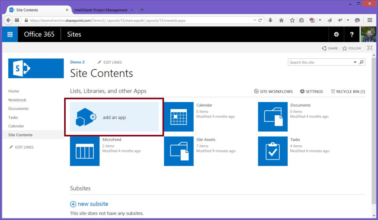 intelligantt  intelligantt time tracking in sharepoint